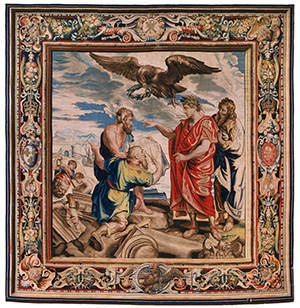 Tapestry showing Constantine Directing the Building of Constantinople