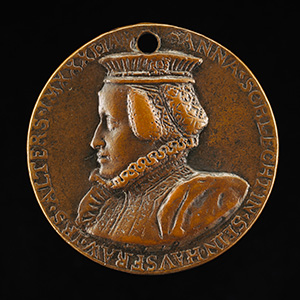 Sebastian Zäh, 1527-1598, Merchant and Financier [obverse]; Susanna Schlecht, Wife of Sebastian Zah 1560 [reverse]
