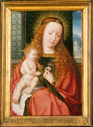 The Madonna and Child with a Member of the Hillensberger Family