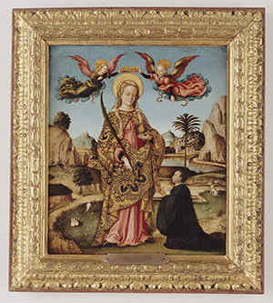 Saint Lucy and Kneeling Donor