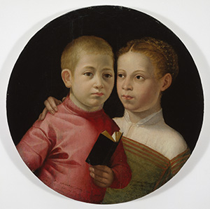 Double Portrait of a Boy and Girl of the Attavanti Family