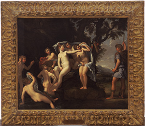 Actaeon Surprising Diana and Her Nymphs