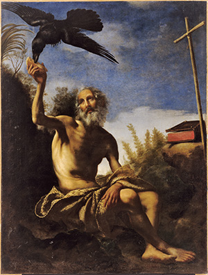 Saint Paul the Hermit Fed by the Raven