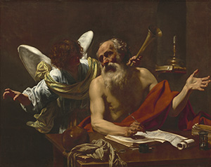 Saint Jerome and the Angel
