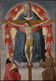 Holy Trinity Adored by Saint Francis and Saint Augustine