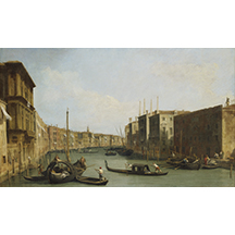 Canaletto, View of the Grand Canal, late 1720s, Samuel H. Kress Collection, Birmingham Museum of Art