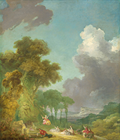 Jean Honoré Fragonard, The Swing, c. 1775/1780, Samuel H. Kress Collection, National Gallery of Art