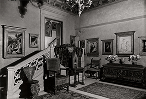 The Venetian Sitting Room in the apartment of Samuel H. Kress as it appeared in 1939.