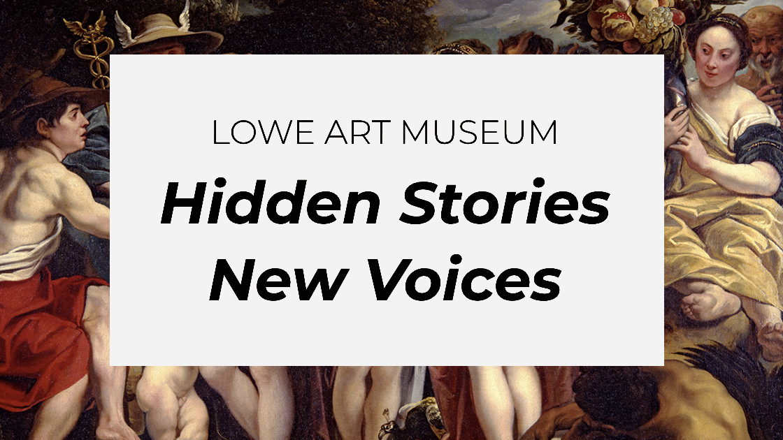 Hidden Stories & New Voices at the Lowe Art Museum