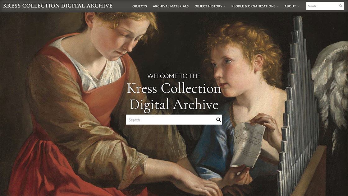 National Gallery of Art Kress Collection Digital Archive