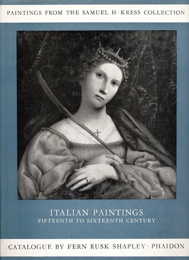 Italian Paintings XV – XVI Century