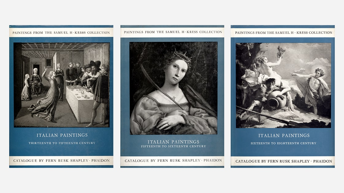 Kress Collection Catalogues