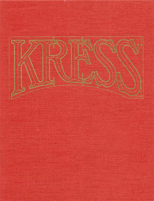 A Generous Vision I Samuel H. Kress Professors 1965-1995