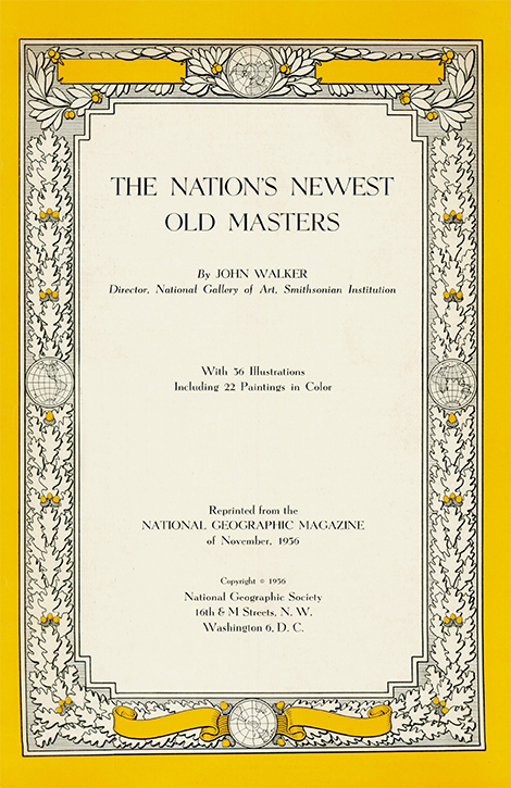 The Nation's Newest Old Masters